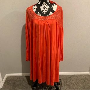 Lane Bryant stretchy slip on dress NWT